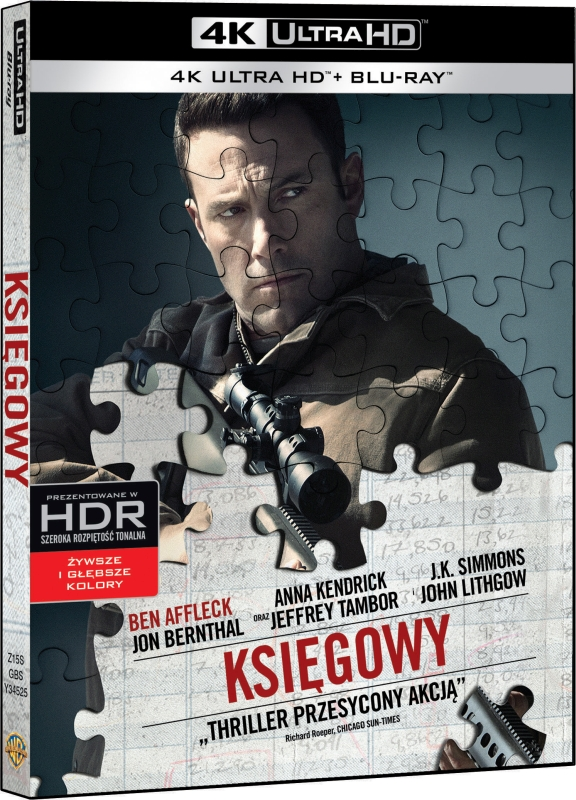 Księgowy - Accountant (2016) - Film 4K Ultra-HD