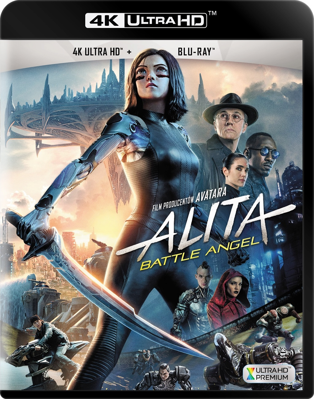 Alita: Battle Angel (2019) - Film 4K Ultra-HD