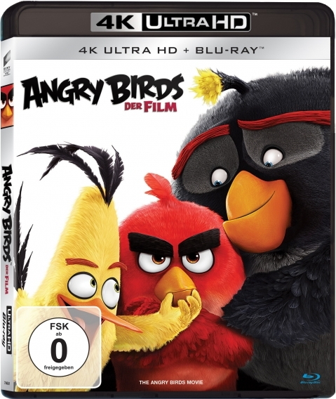 Angry Birds Film - The Angry Birds Movie (2016) - Film 4K Ultra-HD