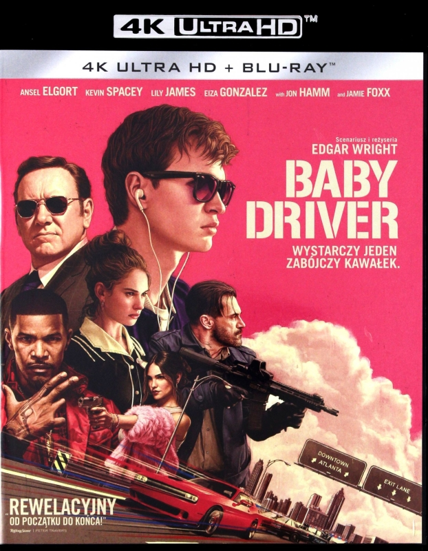 Baby Driver (2017) - Film 4K Ultra-HD