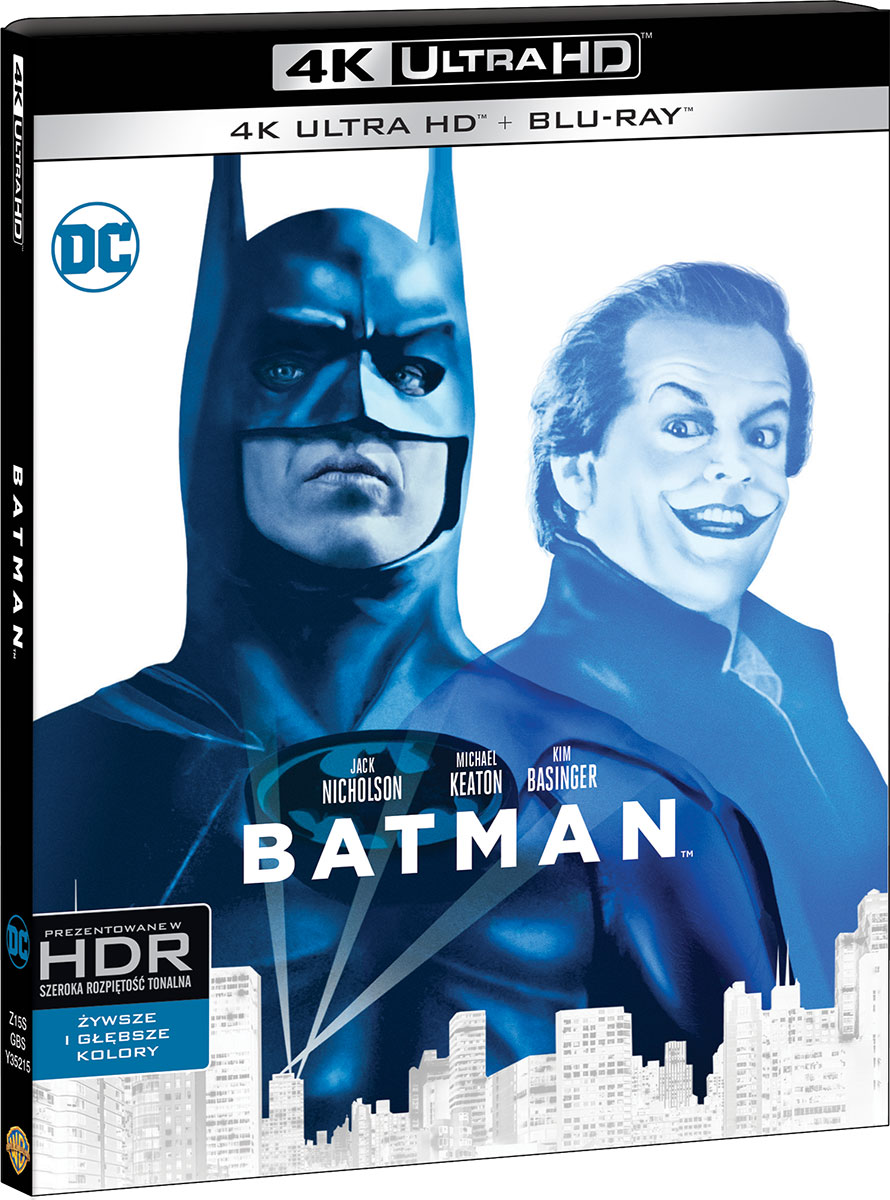 Batman (1989 - Film 4K Ultra-HD