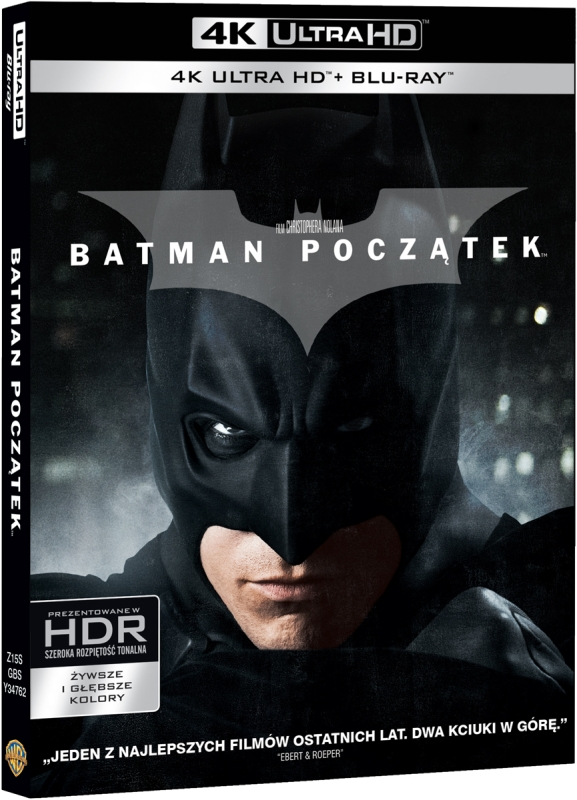 Batman Początek - Batman Begins (2005) - Film 4K Ultra-HD