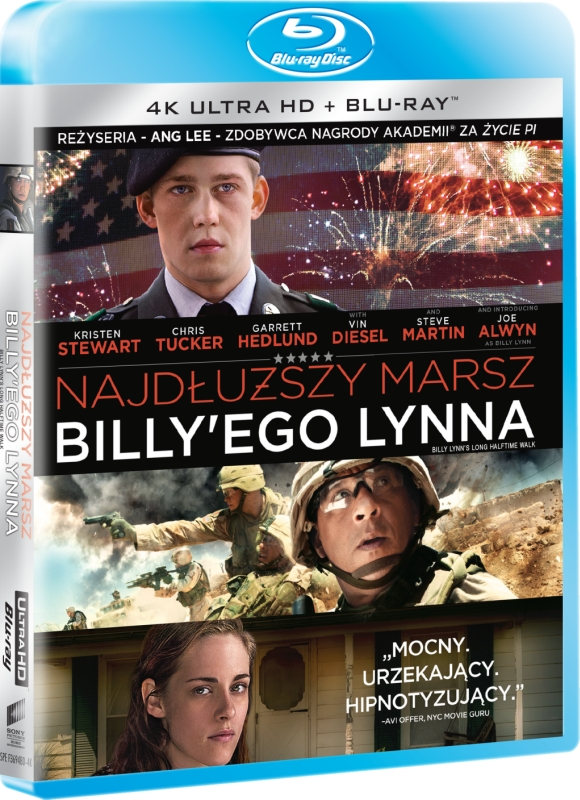 Najdłuższy Marsz Billy'ego Lynna - Lynna Billy Lynn's Long Halftime Walk (2016) - Film 4K Ultra-HD