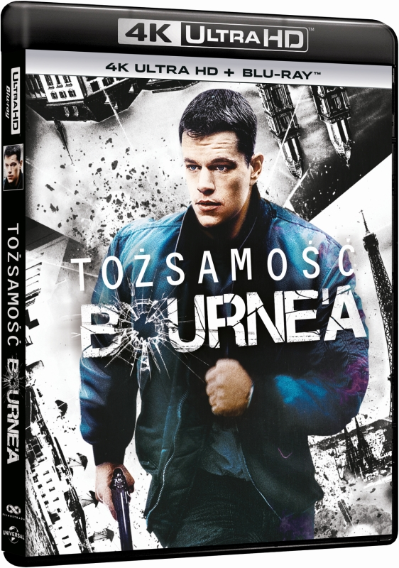 To¿samo¶æ Bourne'a - Bourne Identity (2002) - Film 4K Ultra-HD