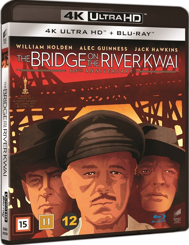 Most na Rzece Kwai - Bridge on the River Kwai (1957) - Film 4K Ultra-HD