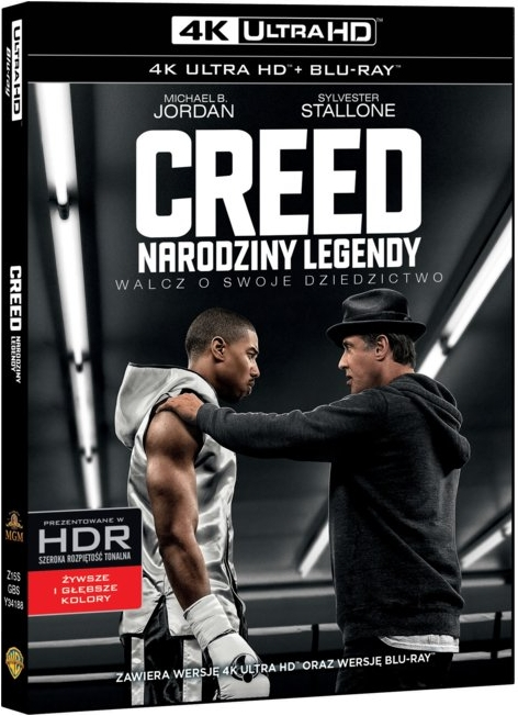 Creed: Narodziny Legendy - Creed (2015) - Film 4K Ultra-HD