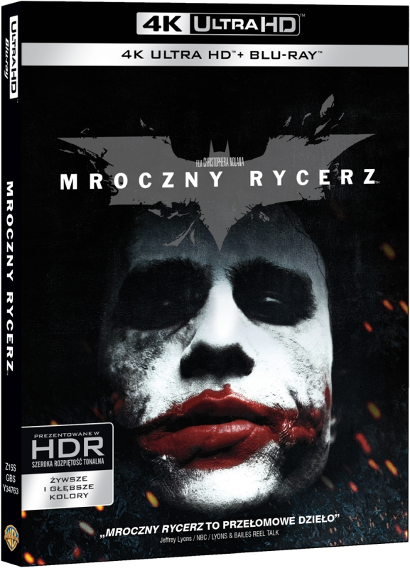 Mroczny Rycerz - The Dark Knight (2008) - Film 4K Ultra-HD