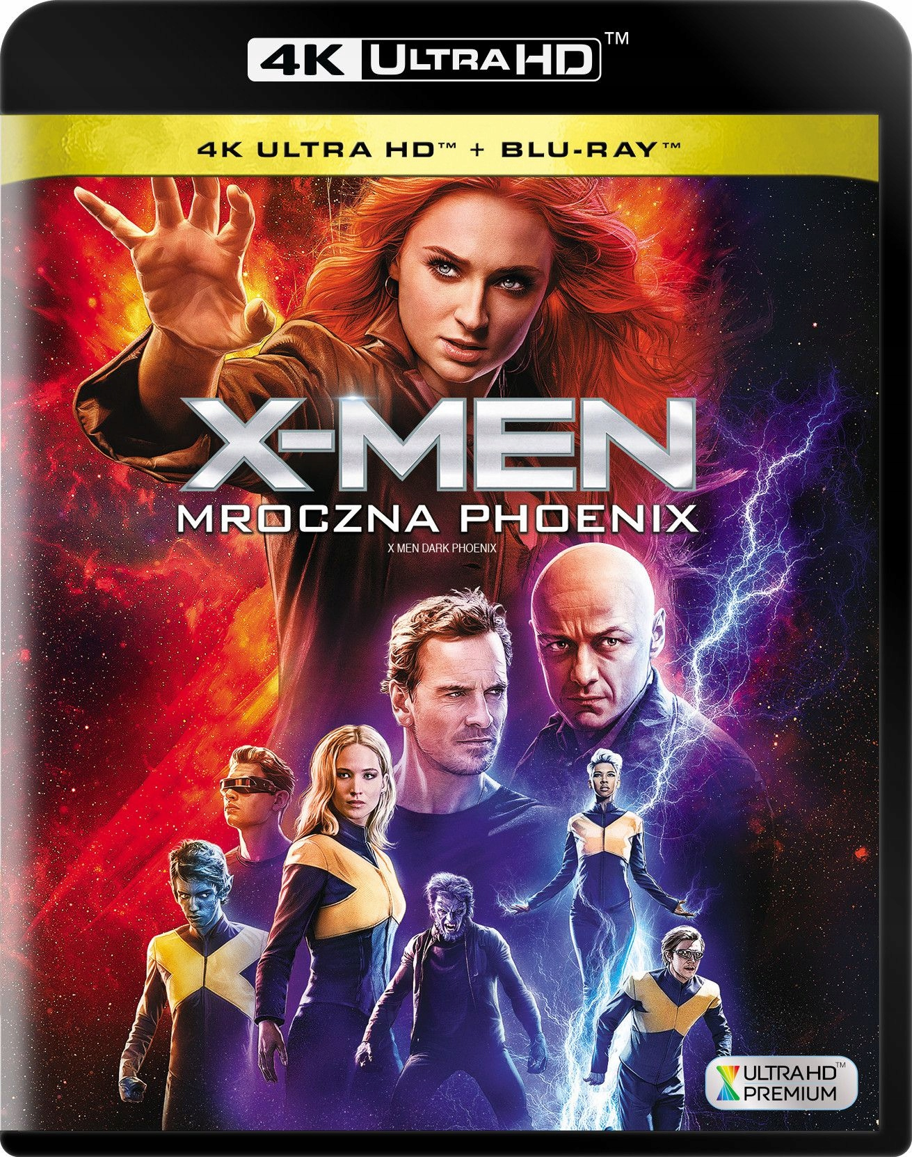 X-Men: Mroczna Phoenix - Dark Phoenix (2019) - Film 4K Ultra-HD