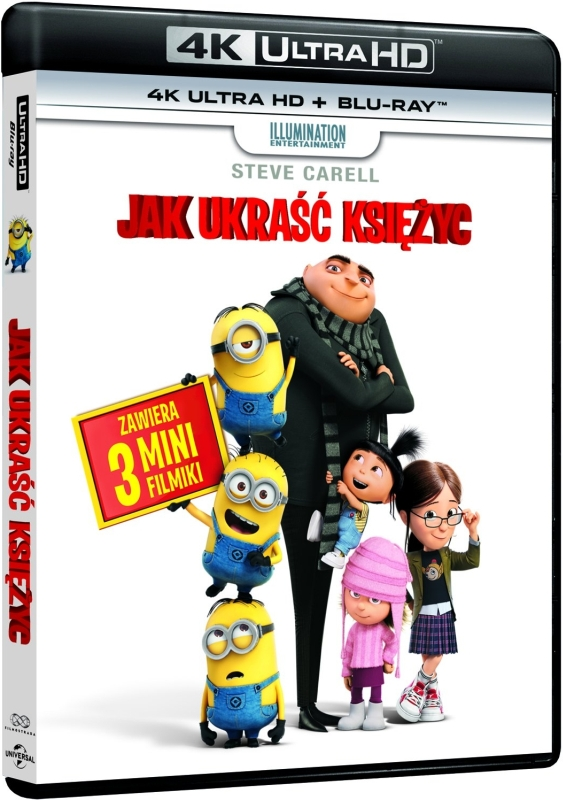 Jak Ukraść Księżyc - Despicable Me (2010) - Film 4K Ultra-HD