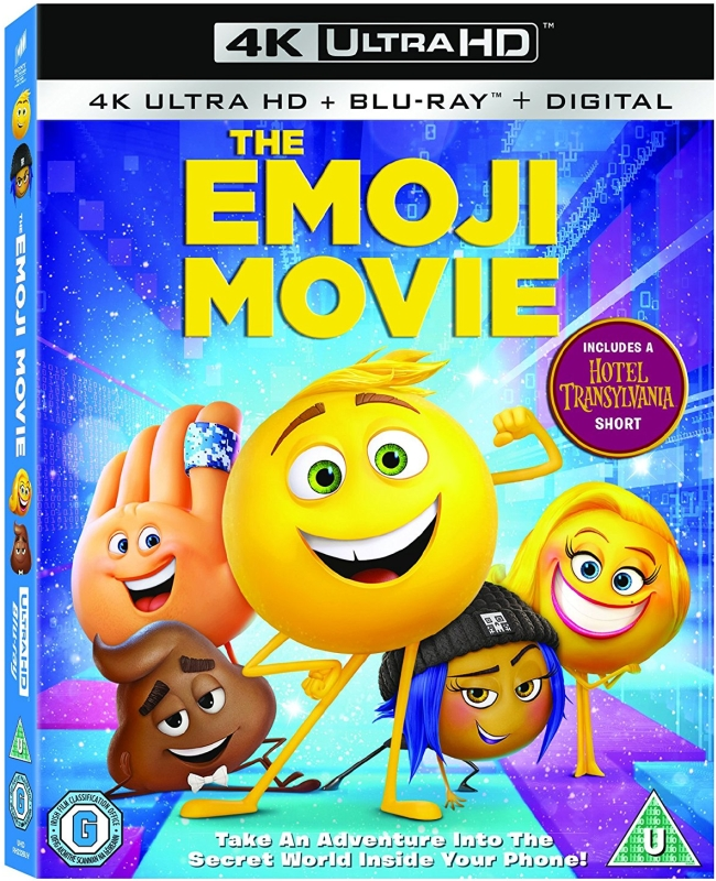 Emotki Film - The Emoji Movie (2017) - Film 4K Ultra-HD