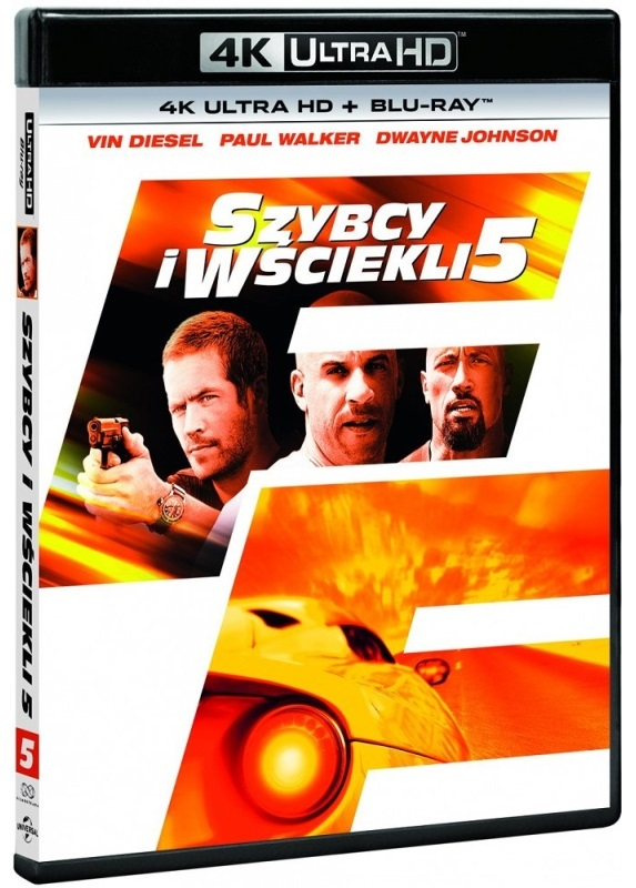 Szybcy i Wściekli 5 - Fast Five (2011) - Film 4K Ultra-HD