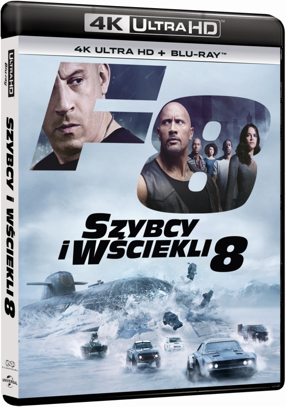 Szybcy i Wściekli 8 - The Fate of the Furious (2017) - Film 4K Ultra-HD