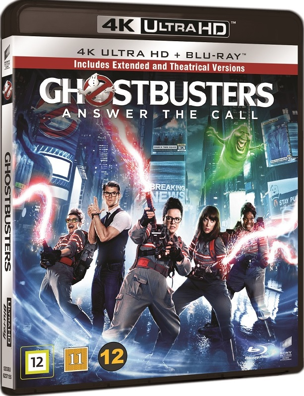 Ghostbusters. Pogromcy Duchów - Ghostbusters (2016) - Film 4K Ultra-HD