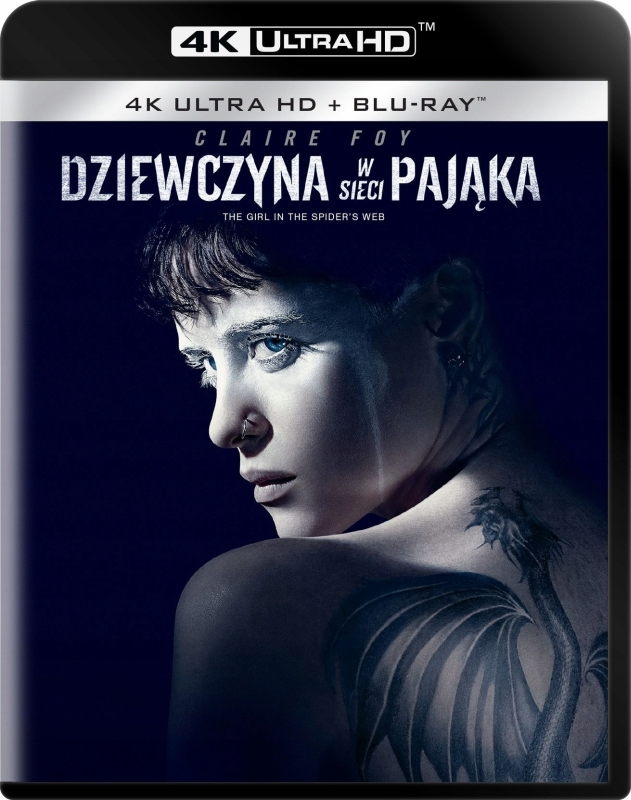 Dziewczyna w Sieci Paj±ka - The Girl in the Spider's Web (2018) - Film 4K Ultra-HD