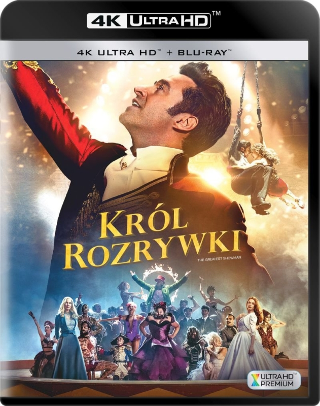 Król Rozrywki - The Greatest Showman (2017) - Film 4K Ultra-HD