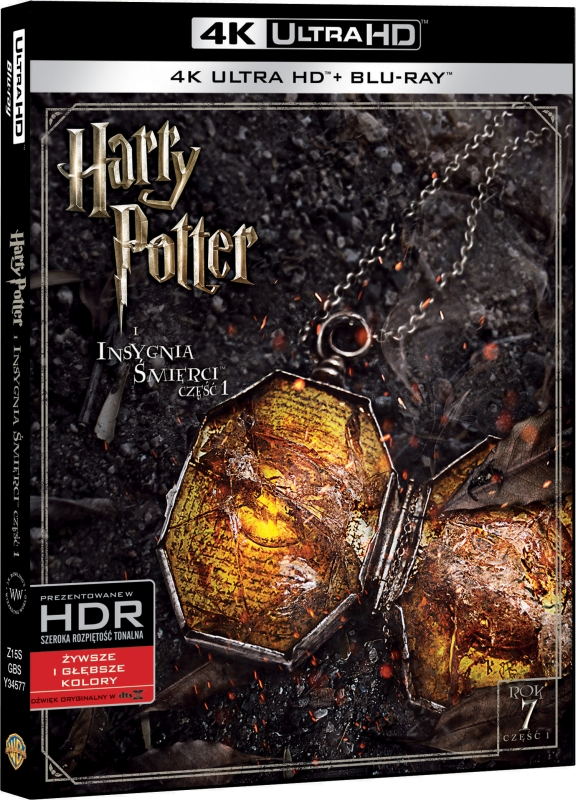 Harry Potter i Insygnia ¦mierci Cze¶æ 1 - Harry Potter and the Deathly Hallows Part I (2010) - Film 4K Ultra-HD