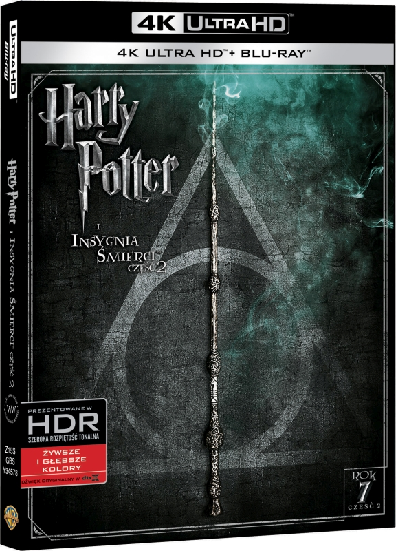 Harry Potter i Insygnia Śmierci: Część II - Harry Potter and the Deathly Hallows: Part 2 (2011) - Film 4K Ultra-HD