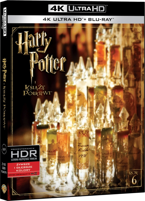 Harry Potter i Książę Półkrwi - Harry Potter and the Half-Blood Prince (2009) - Film 4K Ultra-HD