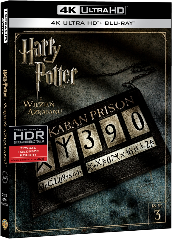 Harry Potter i Wiêzieñ Azkabanu - Harry Potter And The Prisoner Of Azkaban (2004) - Film 4K Ultra-HD