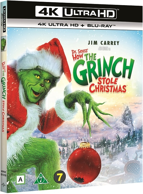 Grinch: Świąt nie będzie - How the Grinch Stole Christmas (2000) - Film 4K Ultra-HD