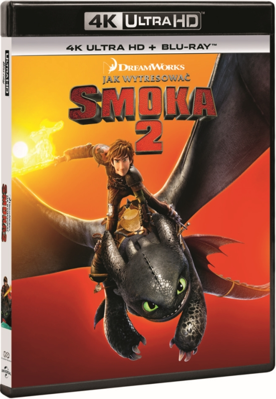 Jak Wytresowaæ Smoka 2 - How to Train Your Dragon 2 (2014) - Film 4K Ultra-HD