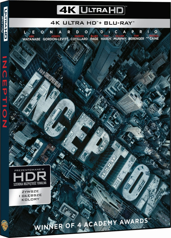 Incepcja - Inception (2010) - Film 4K Ultra-HD