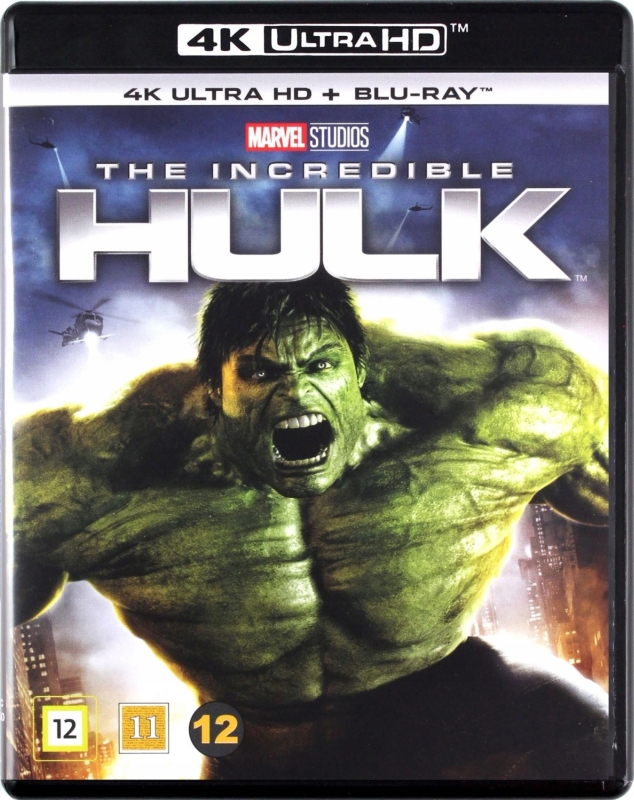 Niesamowity Hulk - The Incredible Hulk (2008) - Film 4K Ultra-HD