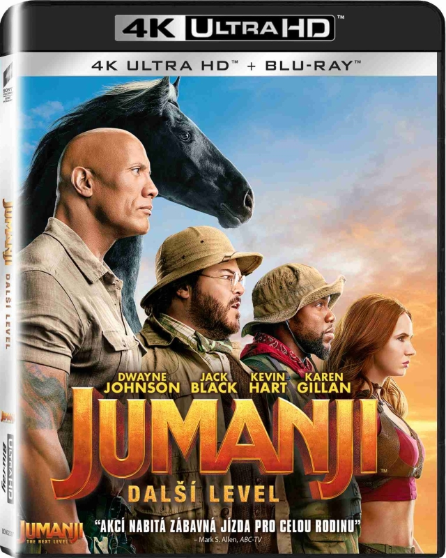 Jumanji: Następny Poziom - Jumanji: The Next Level (2019) - Film 4K Ultra-HD