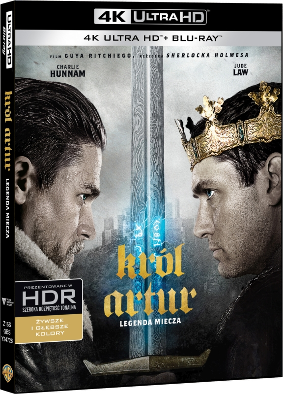 Król Artur: Legenda Miecza - King Arthur: Legend of the Sword (2017) - Film 4K Ultra-HD