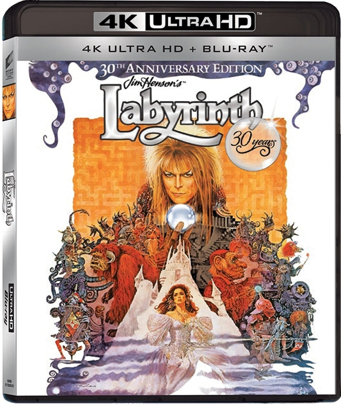 Labirynt - Labyrinth - 30th Anniversary Edition (1986) - Film 4K Ultra-HD
