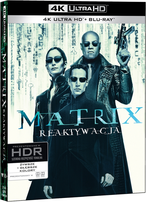Matrix Reaktywacja - The Matrix Reloaded (2003) - Film 4K Ultra-HD