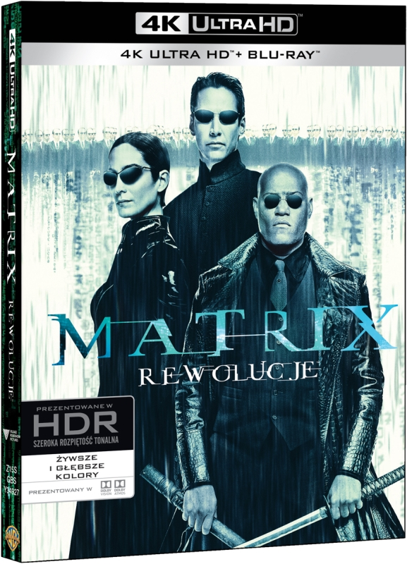 Matrix Rewolucje - The Matrix Revolutions (2003) - Film 4K Ultra-HD