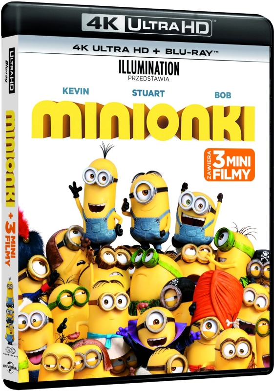 Minionki - Minions (2015) - Film 4K Ultra-HD