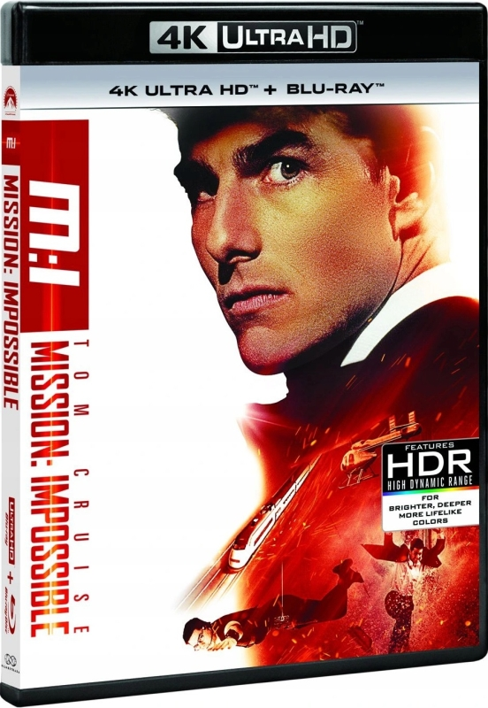 Mission: Impossible (1996) - Film 4K Ultra-HD