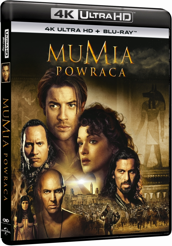 Mumia Powraca - Mummy Returns (2001) - Film 4K Ultra-HD