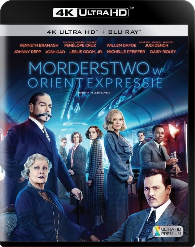 Morderstwo w Orient Expressie - Murder on the Orient Express (2017) - Film 4K Ultra-HD