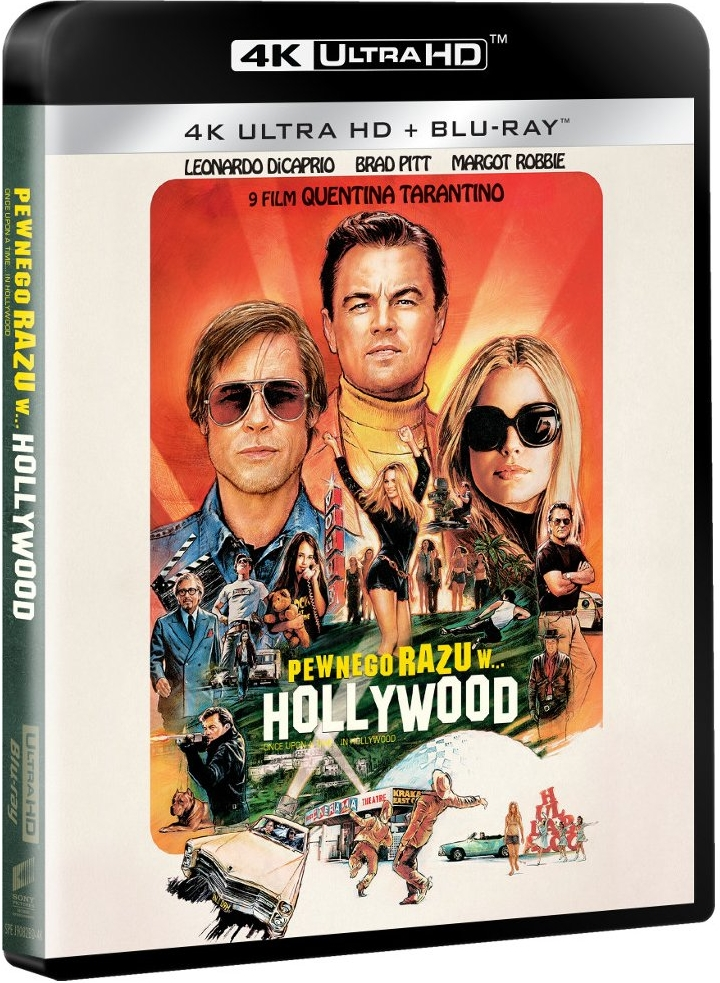 Pewnego razu... w Hollywood - Once Upon a Time... in Hollywood (2019) - Film 4K Ultra-HD
