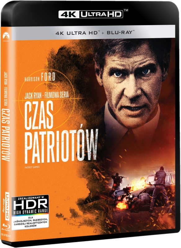 Czas Patriotów - Patriot Games (1992) - Film 4K Ultra-HD