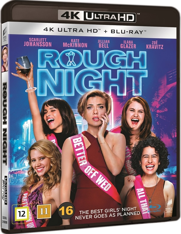Ostra Noc - Rough Night (2017) - Film 4K Ultra-HD