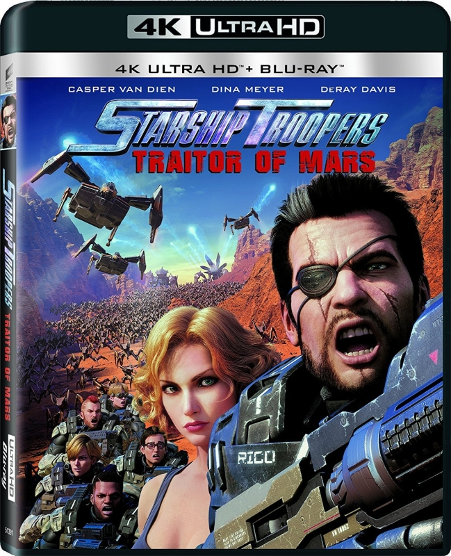 Starship Troopers: Traitor of Mars (2017) - Film 4K Ultra-HD