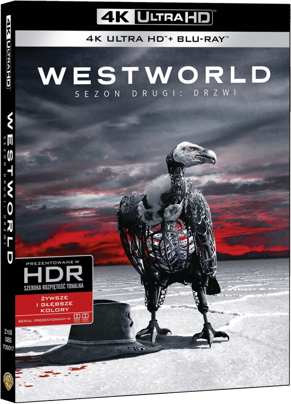 Westworld, Sezon 2: Drzwi - Westworld, Season 2: The Door (2018) - Film 4K Ultra-HD