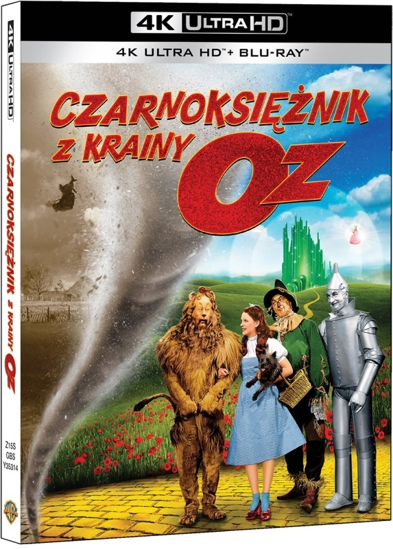 Czarnoksiê¿nik z Krainy Oz - The Wizard of Oz (1939) - Film 4K Ultra-HD