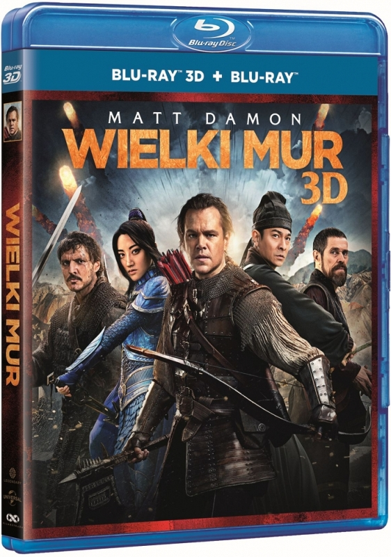 Wielki Mur 3D | The Great Wall 3D (2016) - Film Blu-ray