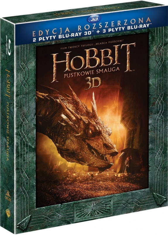 Hobbit: Pustkowie Smauga - Edycja Rozszerzona 3D | The Hobbit: The Desolation of Smaug 3D (Extended Edition) (2013)