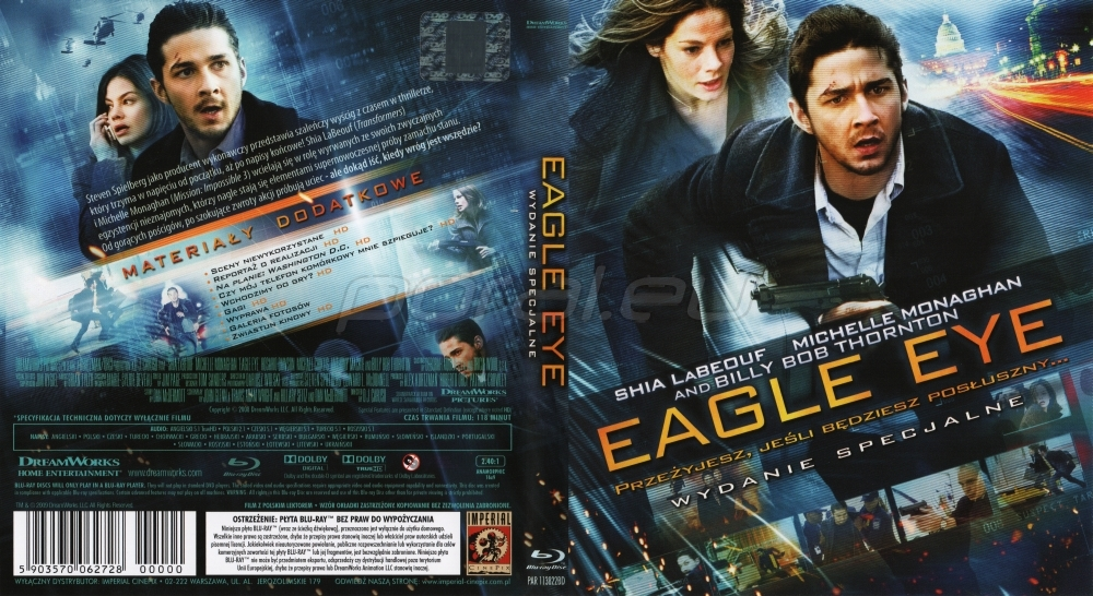 eagle eye movie essay Eagle eye this week's films reviews in a story of children and film review â mark cousins's 'spine-tingling' visual essay more film reviews.