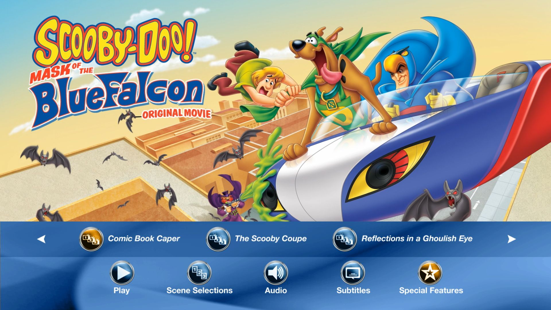 scooby doo mask of the blue falcon wiki